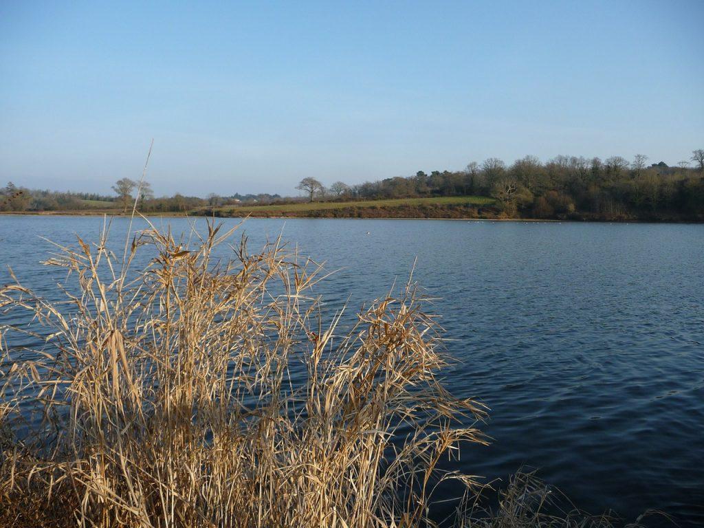 Vendée Jaunay reservoir